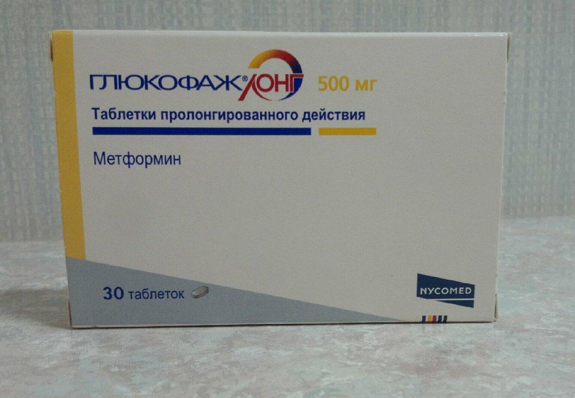 Глюкофаж в таблетках похудение