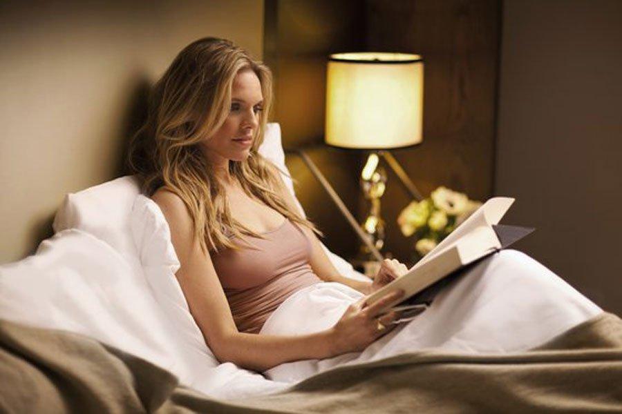 Полезные привычки перед сном