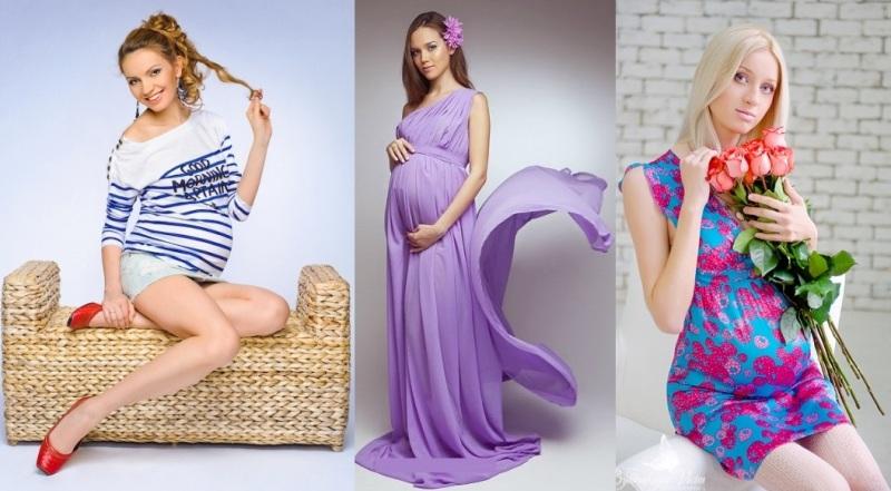 Выбираем цвет одежды для беременных