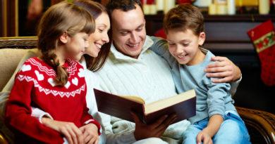 Польза домашнего чтения для ребёнка
