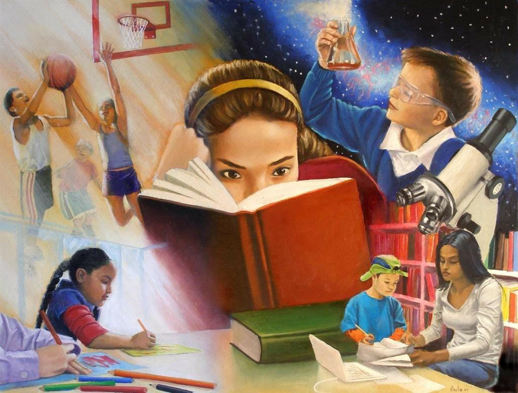 Почему так важно учить детей чему-то новому?