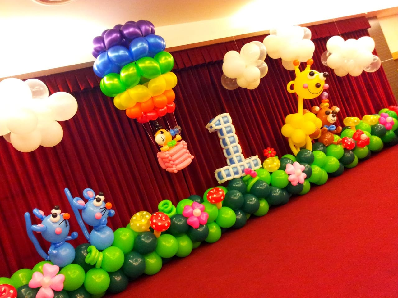 Как можно использовать воздушные шары на празднике?