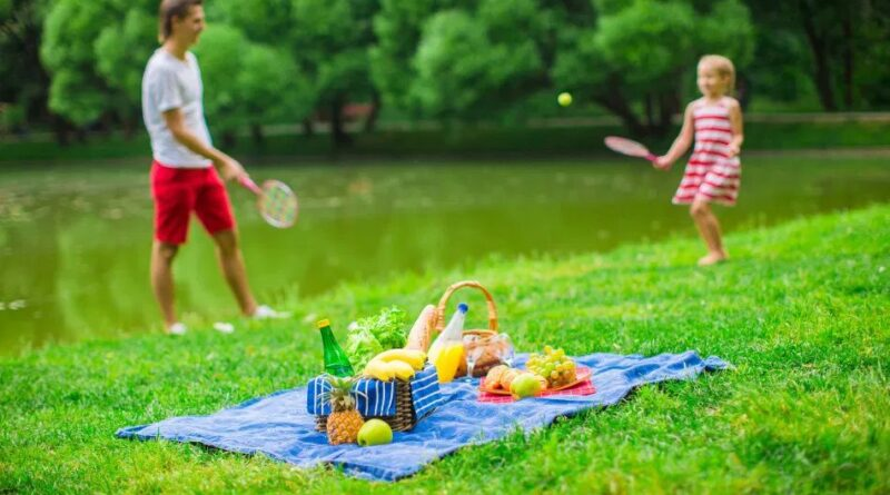 Как отдыхать на природе с маленькими детьми
